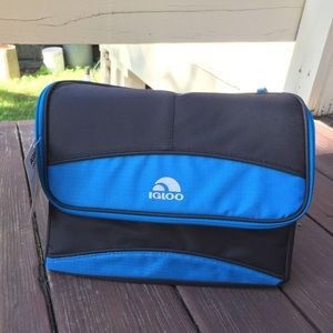 ☀️NWT Igloo Blue 12 Can Lunchbox Sized Cooler